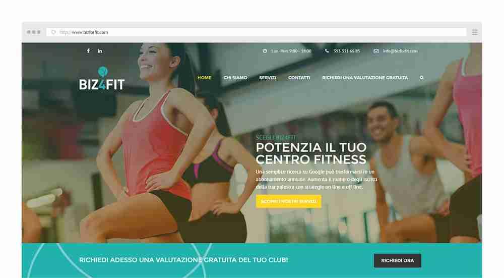 homepage-biz-for-fit-crea-il-tuo-sito-palermo