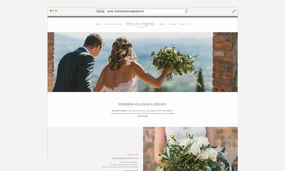 Wedding Planner sito web