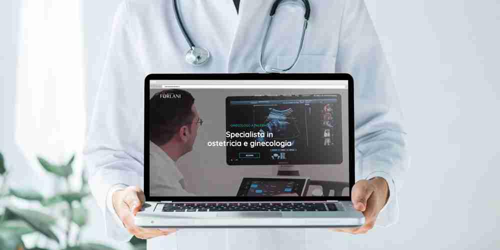 Sito web per ginecologo